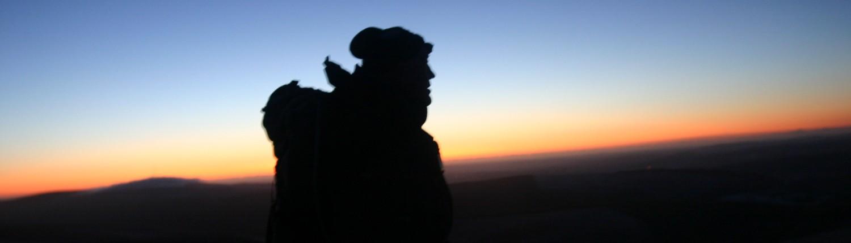 Sunrise on the Paps. December 2009.